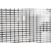 Película Decorativa Barra Branca 3,5x1,5cm Horizontal Detalhe