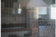 Película Decorativa Listra Prata 1,0x0,5cm Vertical Detalhe