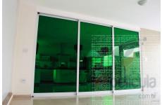 Película Extreme Color Verde Dia Externo