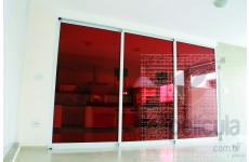 Película Extreme Color Vermelha Dia Externo Dia Externo