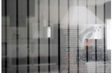 Película Decorativa Listra Prata 4,5x1,0cm Vertical Detalhe