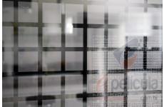 Película Decorativa Quadrado Prata 4,5x4,5cm Detalhe