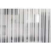 Película Decorativa Listras Sobrepostas Vertical Detalhe