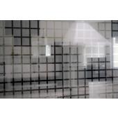 Película Decorativa Quadrado Prata 3,0x3,0cm Detalhe